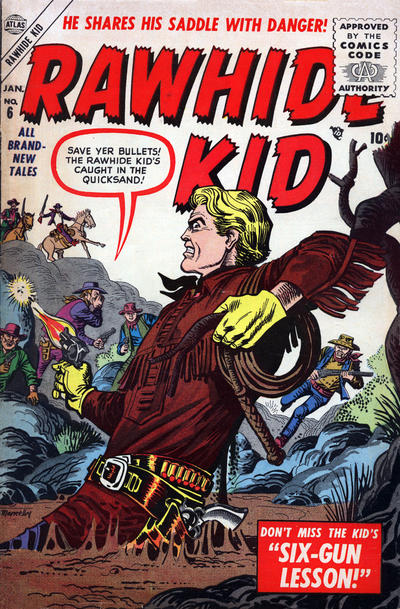 Cover for Rawhide Kid (1955 series) #6