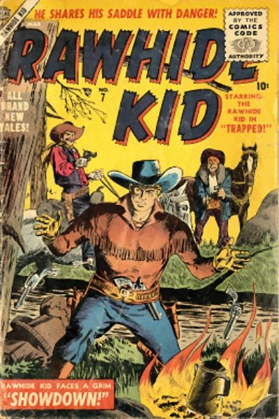 Cover for Rawhide Kid (1955 series) #7