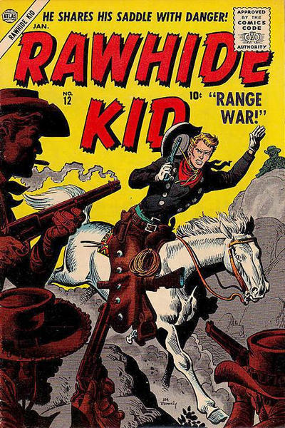 Cover for Rawhide Kid (Marvel, 1955 series) #12
