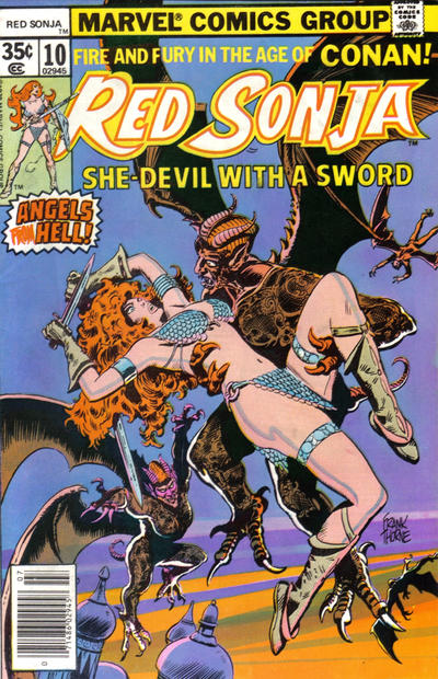 Cover for Red Sonja (Marvel, 1977 series) #10