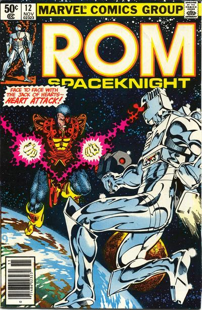 Cover for ROM (Marvel, 1979 series) #12 [Newsstand Edition]