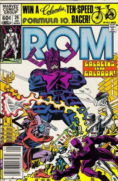 Cover for ROM (Marvel, 1979 series) #26 [Newsstand Edition]