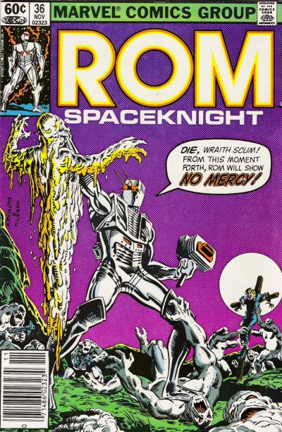 Cover for ROM (Marvel, 1979 series) #36 [Direct Edition]