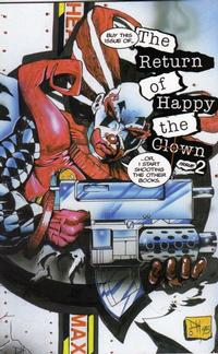 Cover Thumbnail for The Return of Happy the Clown (Caliber Press, 1995 series) #2
