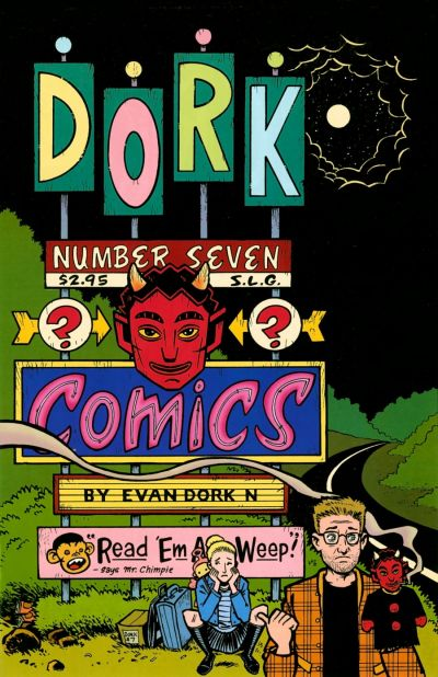 Cover for Dork (1993 series) #7