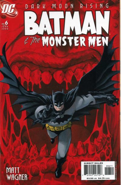 Cover for Batman: The Monster Men (DC, 2005 series) #6