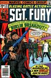 Cover for Sgt. Fury and His Howling Commandos (Marvel, 1974 series) #137