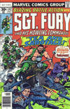Cover Thumbnail for Sgt. Fury and His Howling Commandos (1974 series) #142 [30 cent cover]