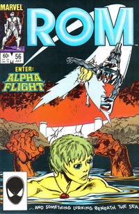 Cover Thumbnail for ROM (Marvel, 1979 series) #56 [Direct Edition]