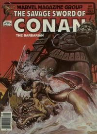 Cover for The Savage Sword of Conan (1974 series) #80