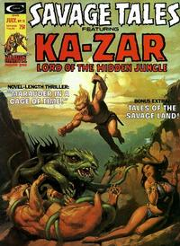 Cover Thumbnail for Savage Tales (Marvel, 1971 series) #11