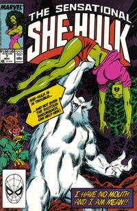Cover Thumbnail for The Sensational She-Hulk (Marvel, 1989 series) #7