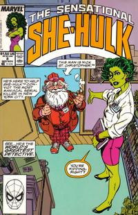 Cover Thumbnail for The Sensational She-Hulk (Marvel, 1989 series) #8