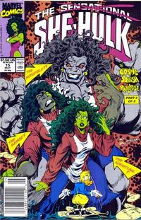 Cover Thumbnail for The Sensational She-Hulk (Marvel, 1989 series) #15