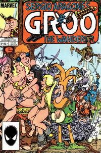 Cover Thumbnail for Sergio Aragonés Groo the Wanderer (Marvel, 1985 series) #10 [Direct]