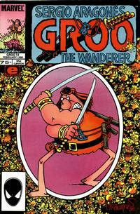 Cover Thumbnail for Sergio Aragonés Groo the Wanderer (Marvel, 1985 series) #12 [Direct]
