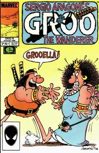 Cover Thumbnail for Sergio Aragonés Groo the Wanderer (Marvel, 1985 series) #18 [Direct]
