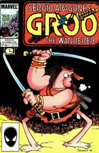 Cover Thumbnail for Sergio Aragonés Groo the Wanderer (Marvel, 1985 series) #22 [Direct]