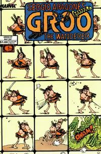 Cover for Sergio Aragonés Groo the Wanderer (Marvel, 1985 series) #27 [Newsstand Edition]
