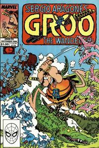 Cover Thumbnail for Sergio Aragonés Groo the Wanderer (Marvel, 1985 series) #55 [Direct]