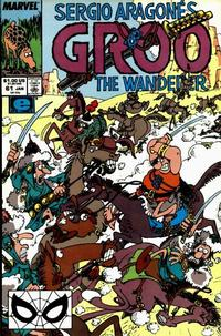 Cover Thumbnail for Sergio Aragonés Groo the Wanderer (Marvel, 1985 series) #61