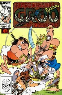 Cover for Sergio Aragonés Groo the Wanderer (Marvel, 1985 series) #63