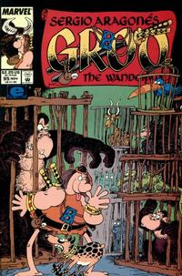 Cover Thumbnail for Sergio Aragonés Groo the Wanderer (Marvel, 1985 series) #95