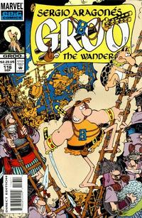 Cover Thumbnail for Sergio Aragonés Groo the Wanderer (Marvel, 1985 series) #116