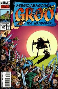 Cover for Sergio Aragonés Groo the Wanderer (Marvel, 1985 series) #120
