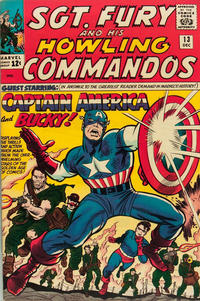Cover Thumbnail for Sgt. Fury (Marvel, 1963 series) #13