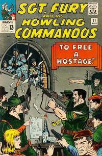 Cover Thumbnail for Sgt. Fury (Marvel, 1963 series) #21