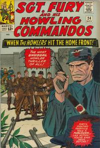 Cover Thumbnail for Sgt. Fury (Marvel, 1963 series) #24