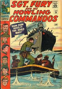 Cover Thumbnail for Sgt. Fury (Marvel, 1963 series) #26
