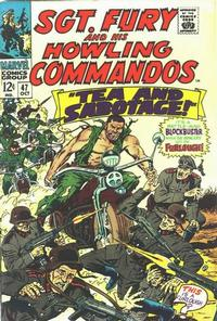 Cover Thumbnail for Sgt. Fury (Marvel, 1963 series) #47