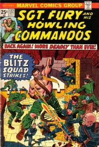 Cover for Sgt. Fury and His Howling Commandos (1974 series) #122