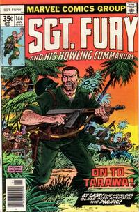 Cover Thumbnail for Sgt. Fury and His Howling Commandos (Marvel, 1974 series) #144