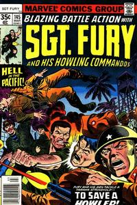 Cover Thumbnail for Sgt. Fury and His Howling Commandos (Marvel, 1974 series) #145