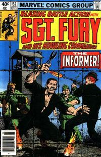 Cover Thumbnail for Sgt. Fury and His Howling Commandos (Marvel, 1974 series) #152