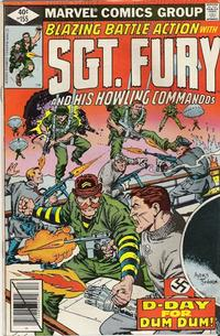 Cover Thumbnail for Sgt. Fury and His Howling Commandos (Marvel, 1974 series) #155