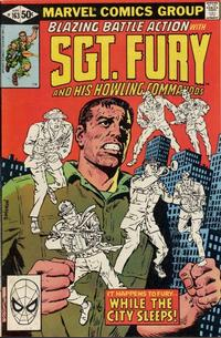 Cover Thumbnail for Sgt. Fury and His Howling Commandos (Marvel, 1974 series) #163