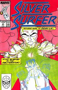 Cover for Silver Surfer (Marvel, 1987 series) #21