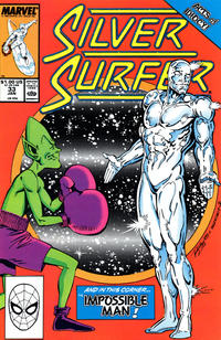 Cover Thumbnail for Silver Surfer (Marvel, 1987 series) #33