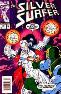Cover Thumbnail for Silver Surfer (Marvel, 1987 series) #79 [Newsstand Edition]