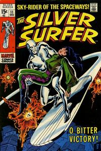 Cover Thumbnail for The Silver Surfer (Marvel, 1968 series) #11