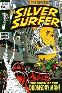 Cover Thumbnail for The Silver Surfer (Marvel, 1968 series) #13