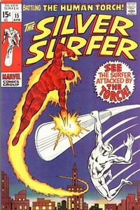 Cover Thumbnail for The Silver Surfer (Marvel, 1968 series) #15