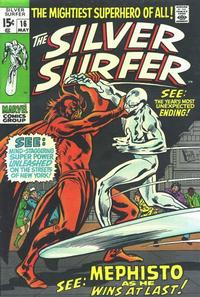 Cover Thumbnail for The Silver Surfer (Marvel, 1968 series) #16
