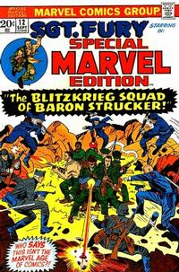 Cover Thumbnail for Special Marvel Edition (Marvel, 1971 series) #12
