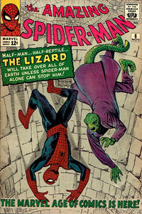 Cover for The Amazing Spider-Man (Marvel, 1963 series) #6 [Regular Edition]