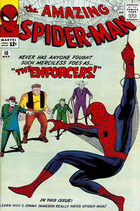 Cover Thumbnail for The Amazing Spider-Man (Marvel, 1963 series) #10 [Regular Edition]